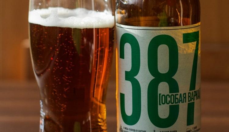 Узнайте, сколько градусов в пиве 387.