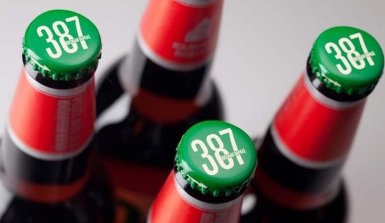 Знаете ли вы, почему пиво 387 так называется.