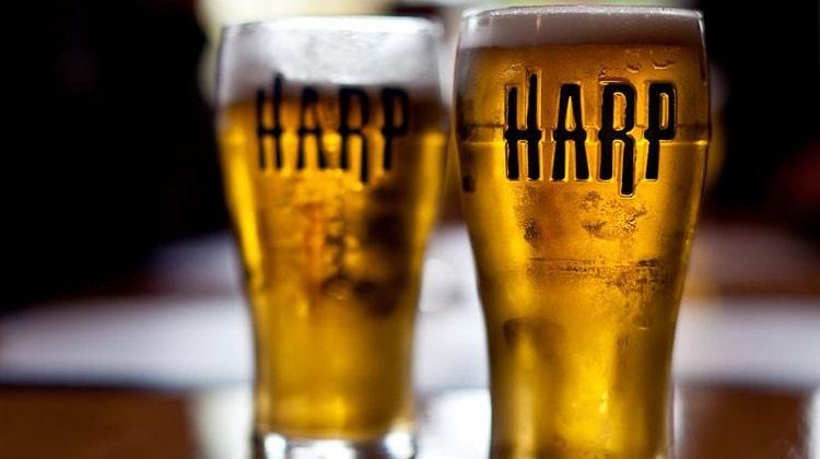 Пиво Харп относится к более дорогим продуктам.