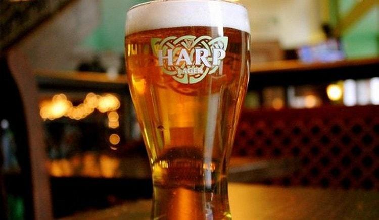 Производителем пива Харп является по сути компания Гиннесс.