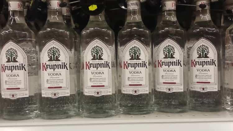 Обзор польской водки
