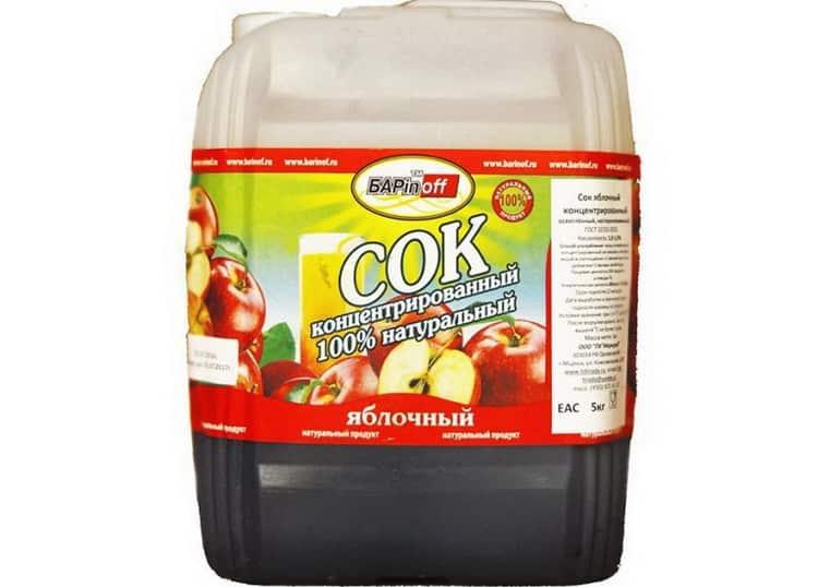 Рецепт приготовления самогона из концентрированного сока