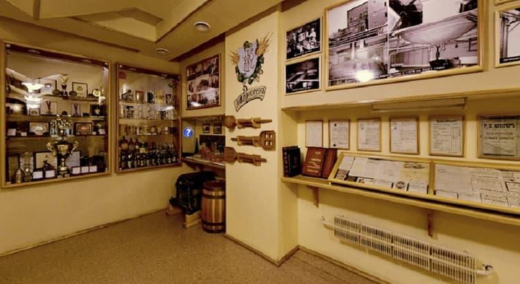 При заводе-производителе работает также музей Томского пива.