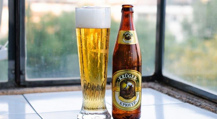 Особенным считается Томское пиво Крюгер.