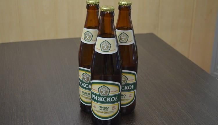 Многим нравится вкус Томского пива Рижское.