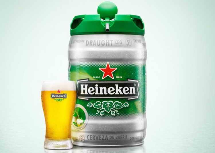 пиво 5 литров бочонок