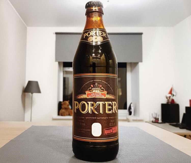 пиво афанасий жигулевское