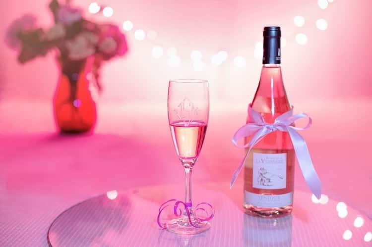 Обзор розового шампанского