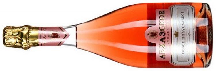 Как выбрать шампанское розовое полусладкое
