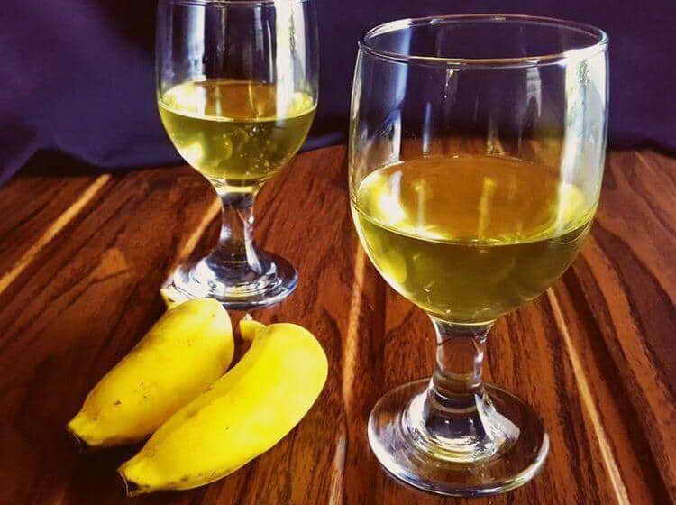 брага для самогона из бананов