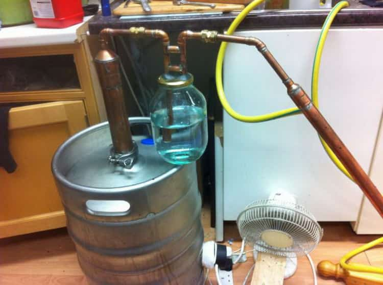 Как готовится самогон из хурмы