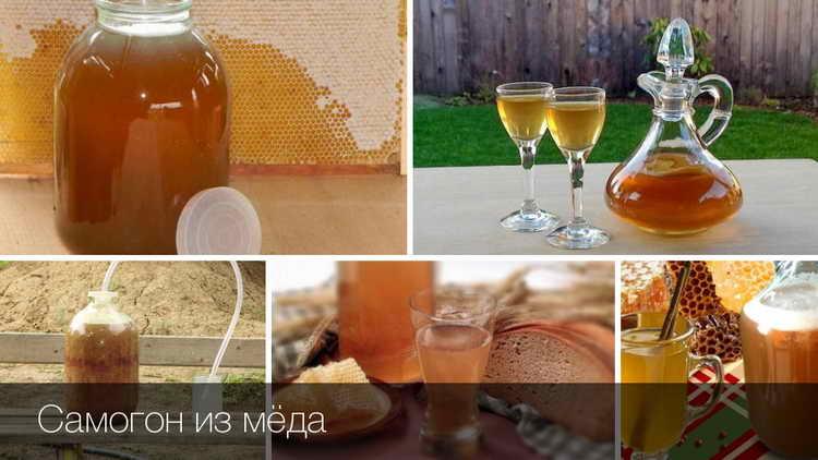 самогон из меда в домашних условиях простой рецепт