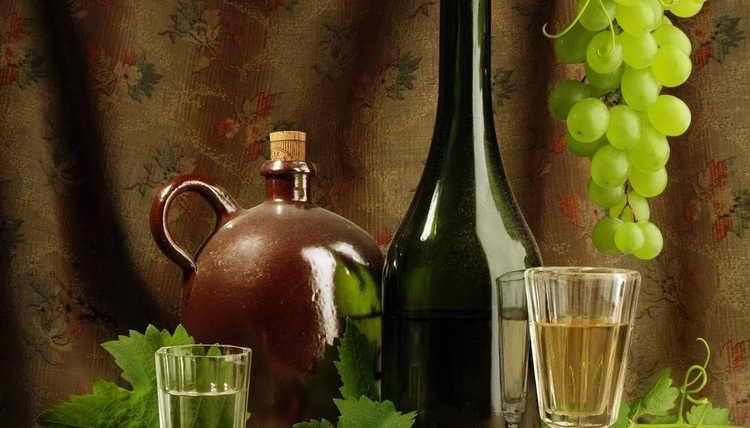 брага из винограда для самогона без дрожжей