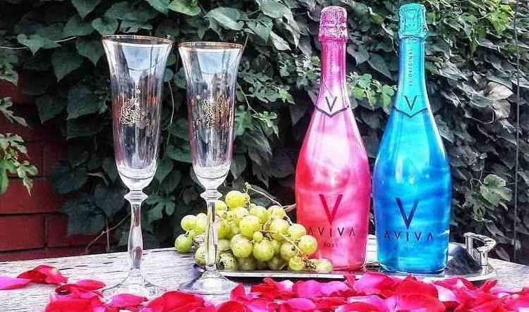 шампанское авива видео