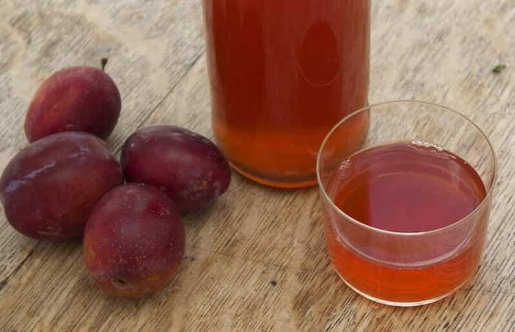 Рецепт приготовления сливового вина