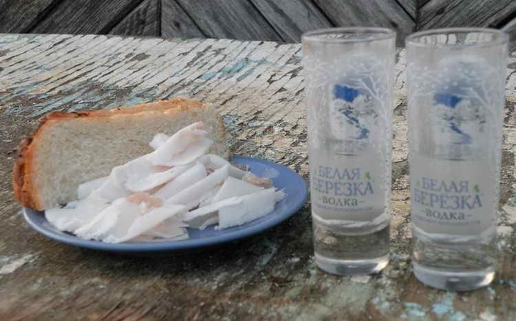 водка белая березка