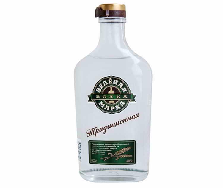 Водка Зеленая марка Традиционная