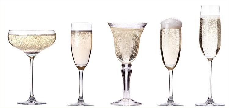 Многим нравятся бокалы для шампанского Богемия.
