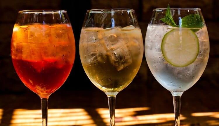 Эти вина можно использовать и для приготовления коктейлей.
