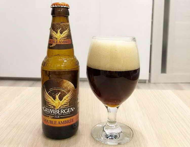 пиво гримберген темное