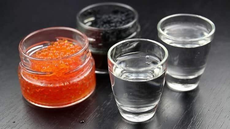 водка Гжелка: как подавать