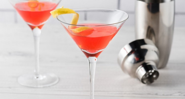 калорийность водки в коктейлях