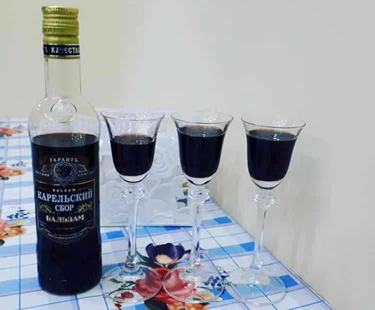 Как пить карельский бальзам