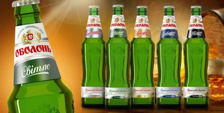 Обзор пива Оболонь