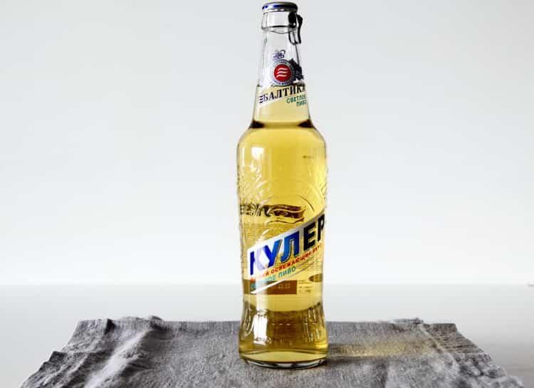 пиво кулер сколько градусов
