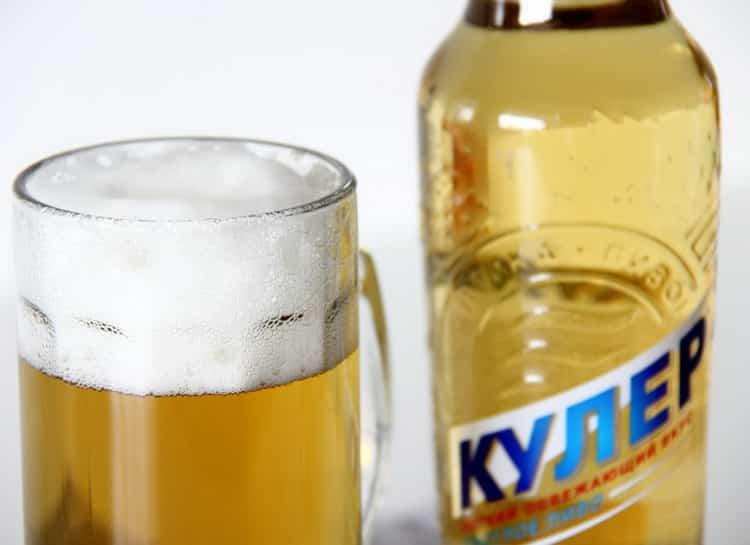 Как подавать кулер пиво