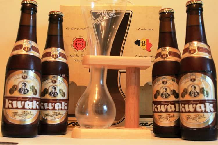 Как подавать пиво квак