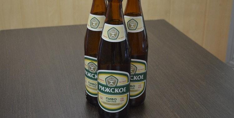 Обзор пива Рижское