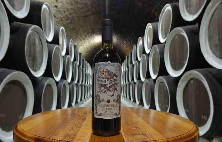 солнечная долина крым вино