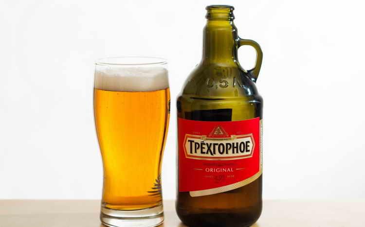 Пиво Трехгорное Оригинальный Эль