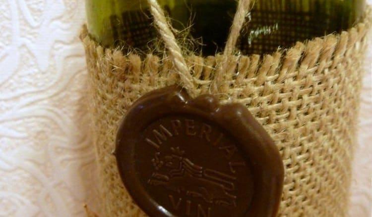 При покупке обращайте внимание на оформление оригинального вина.