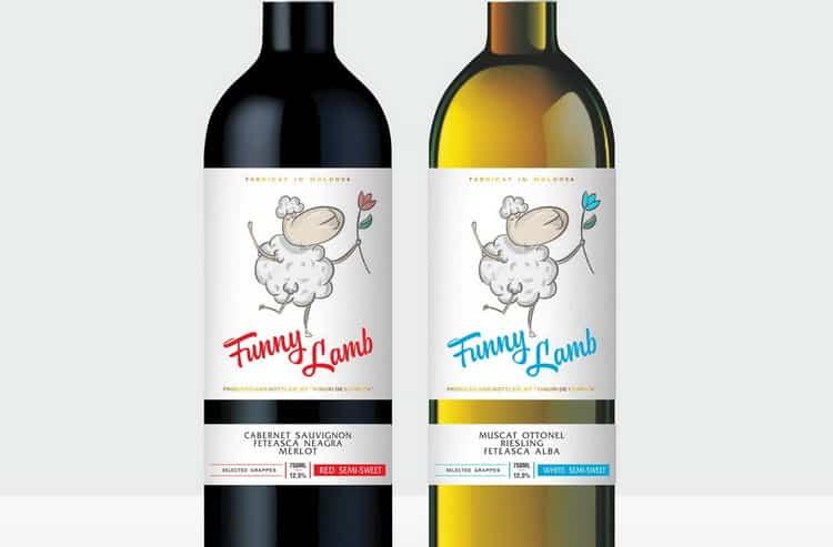 Как подавать funny lamb вино белое