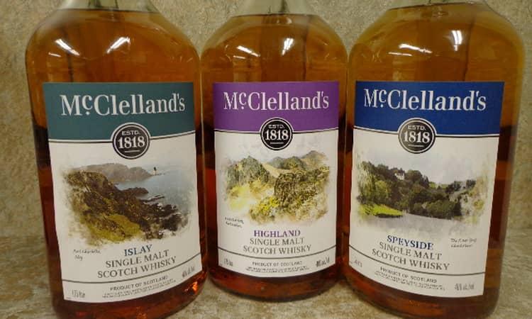 Фирменные виски макклелланд