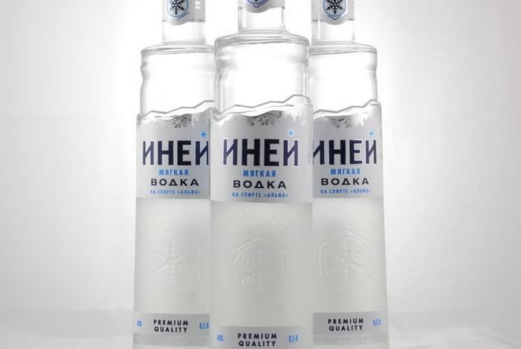 Обзор водки Иней
