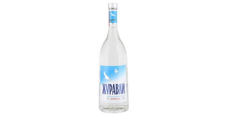 производитель водкb журавли