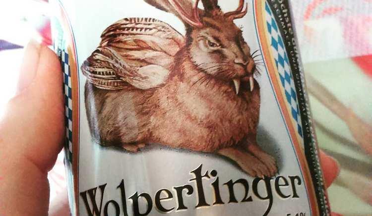 Пшеничное пиво Вольпертингер обладает особым ароматом.