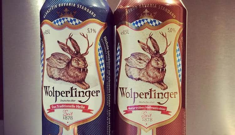 Чудесным вкусом обладает также пиво wolpertinger нефильтрованное.