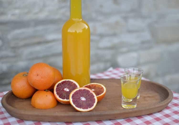 Рецепты приготовления оранчелло в домашних условиях