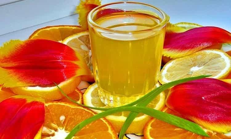 оранчелло рецепт на спирту