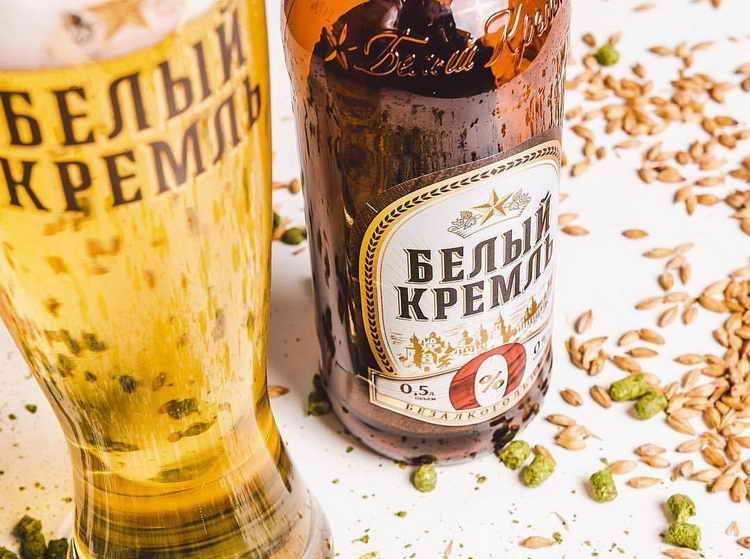 пиво белый кремль производитель