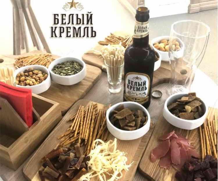 пиво белый кремль где делают