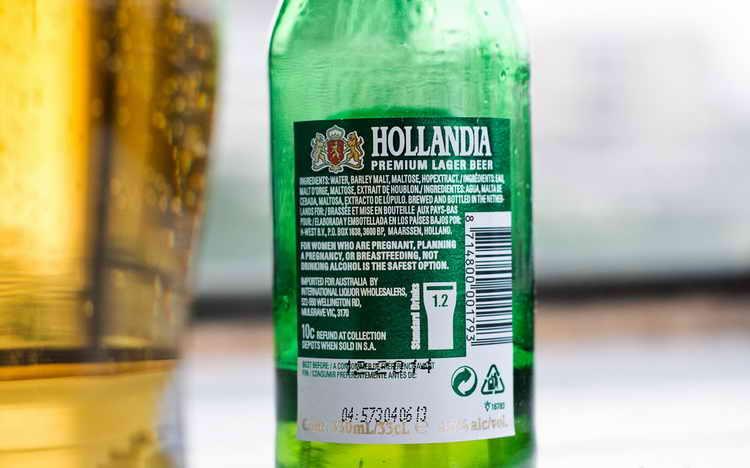 пиво голландия