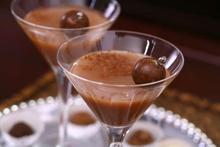 коктейли с шоколадным ликером