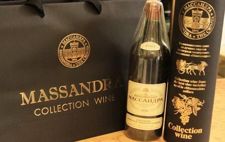 Массандра вино: как подавать