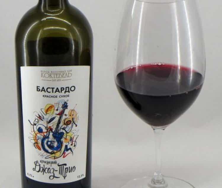 Как подавать бастардо крымское вино полусладкое