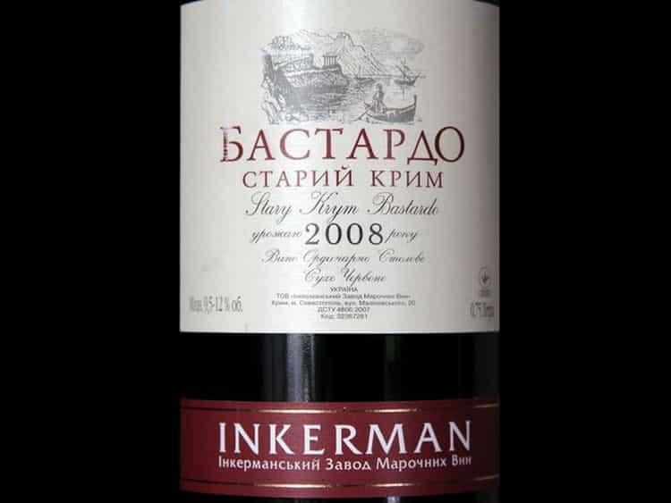 Как подавать бастардо вино красное сухое